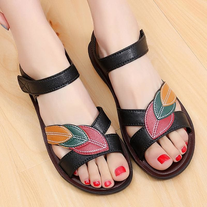 Flat Sandals Ladies Shoes Slip-on Comfort Female Shoes - footwear