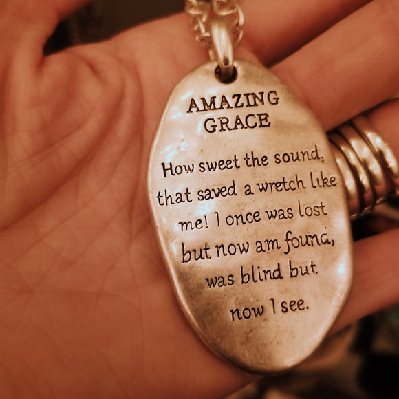 Amazing Gace Necklace