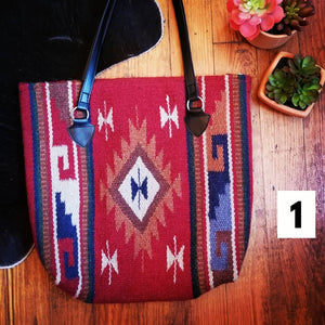 Saddle Blanket Totes