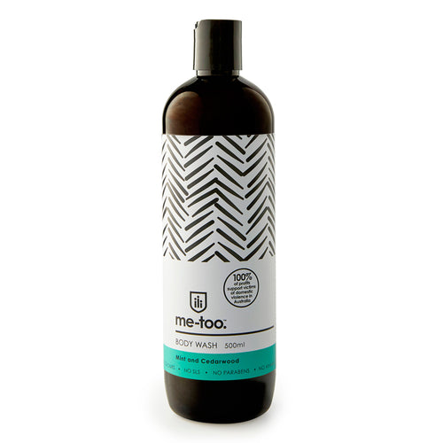 Body Wash - Mint & Cedarwood