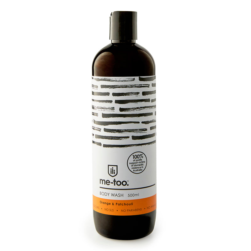 Body Wash - Orange & Patchouli