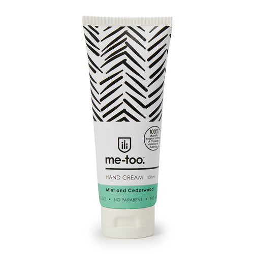 Hand Cream - Mint & Cedarwood