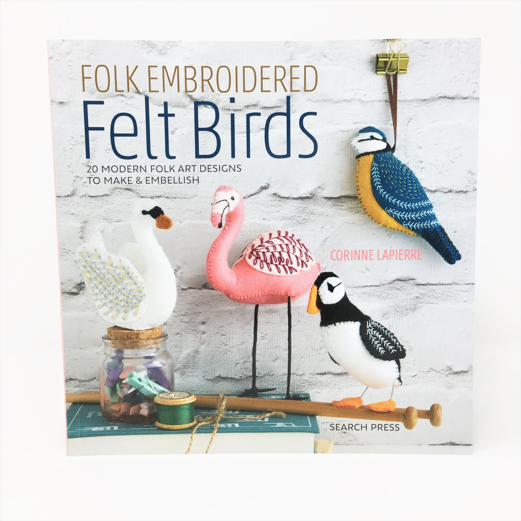 Felt Craft Books - Corinne Lapierre