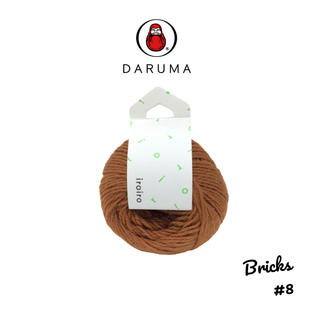 DARUMA iroiro yarn - Bricks