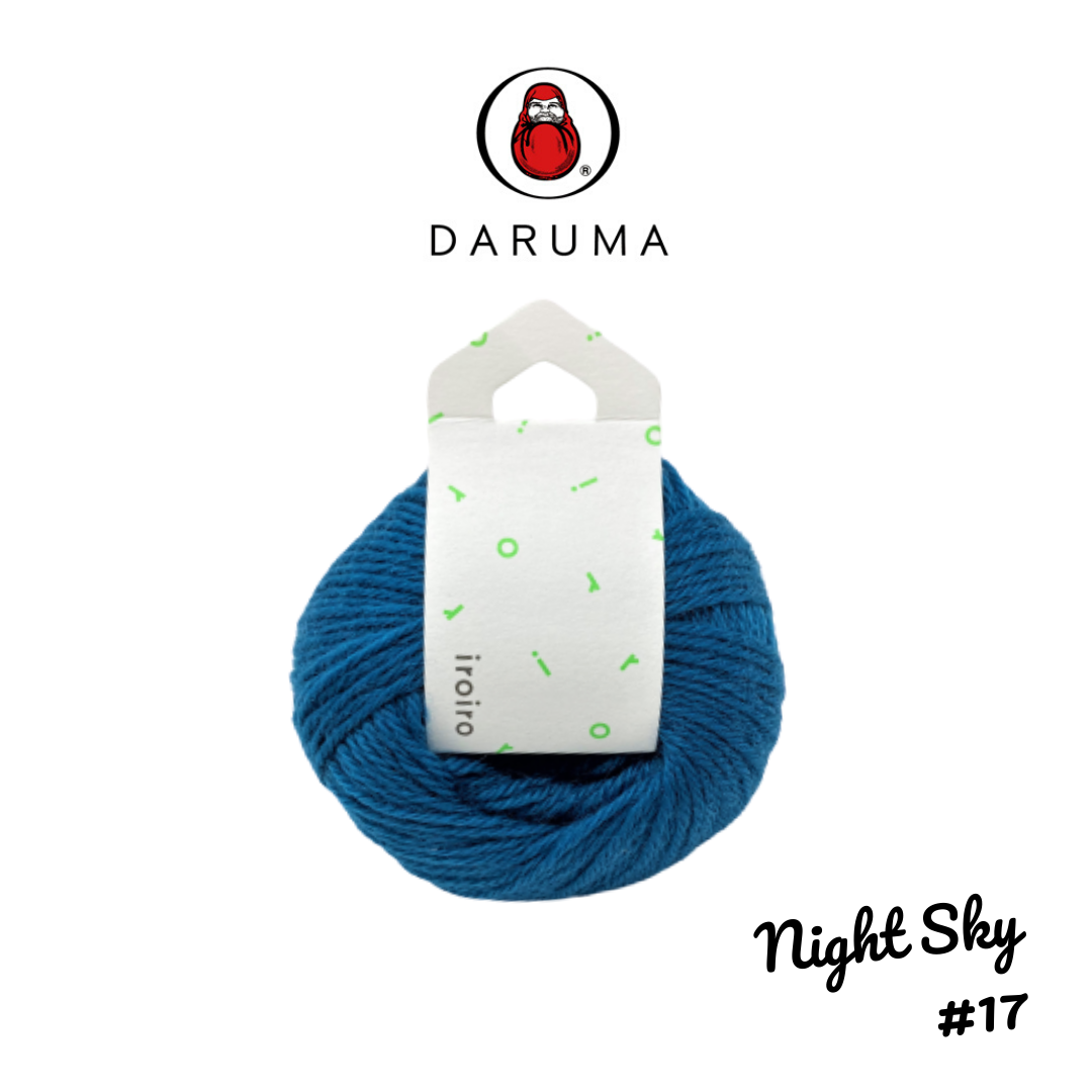DARUMA iroiro yarn - Night Sky