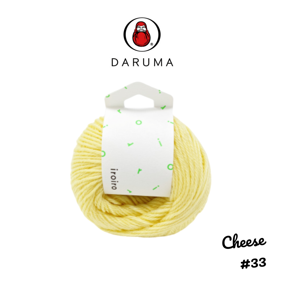 DARUMA iroiro yarn - Cheese