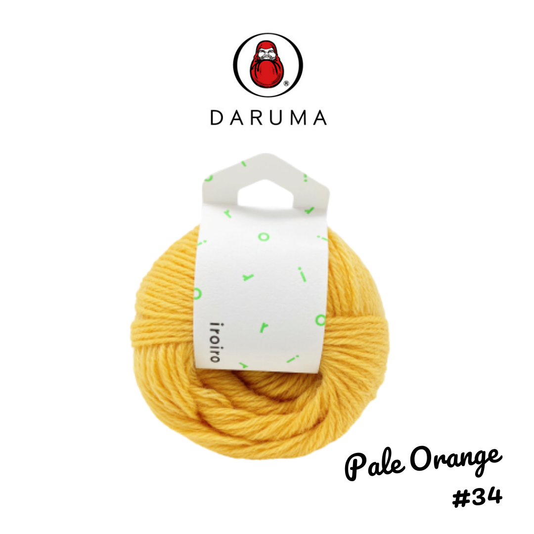 DARUMA iroiro yarn - Pale Orange