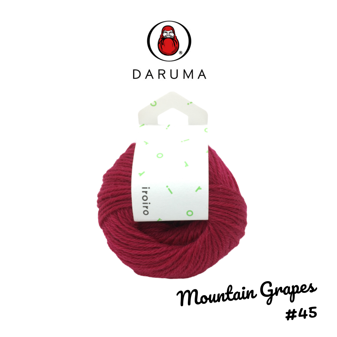 DARUMA iroiro yarn - Mountain Grapes