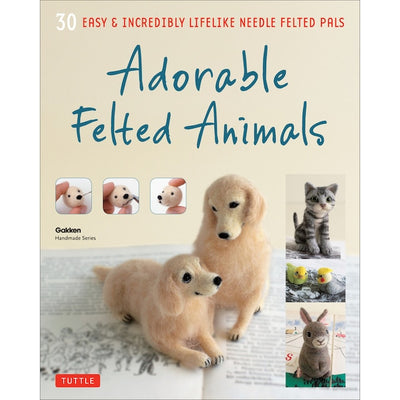 Adorable Felted Animals English Book