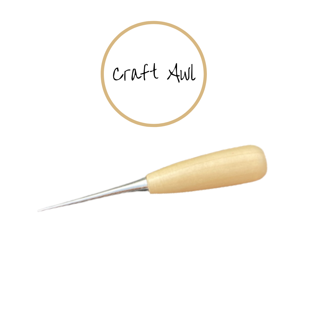 Wooden Handle Craft Awl
