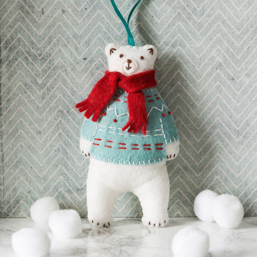 Corinne Lapierre Mini Sewing Kit - Polar Bear
