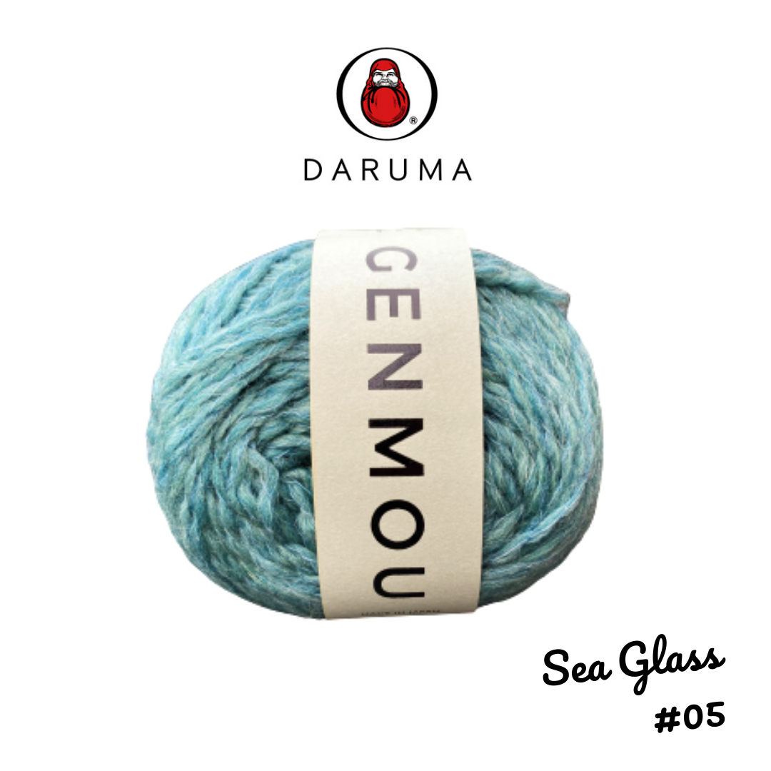 DARUMA Genmou Yarn - Sea Glass #5