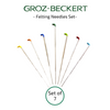 Groz-Beckert Felting Needles Set of 7 - Triangular, Twisted, Star, Reverse