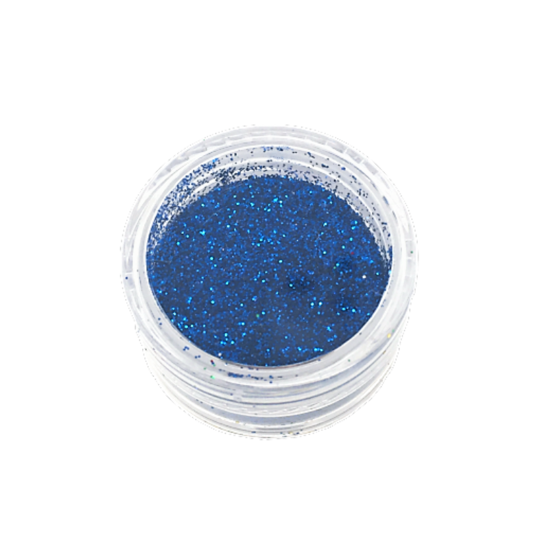 Small Pot of Glitter for Resin Crafts - 3g Blue