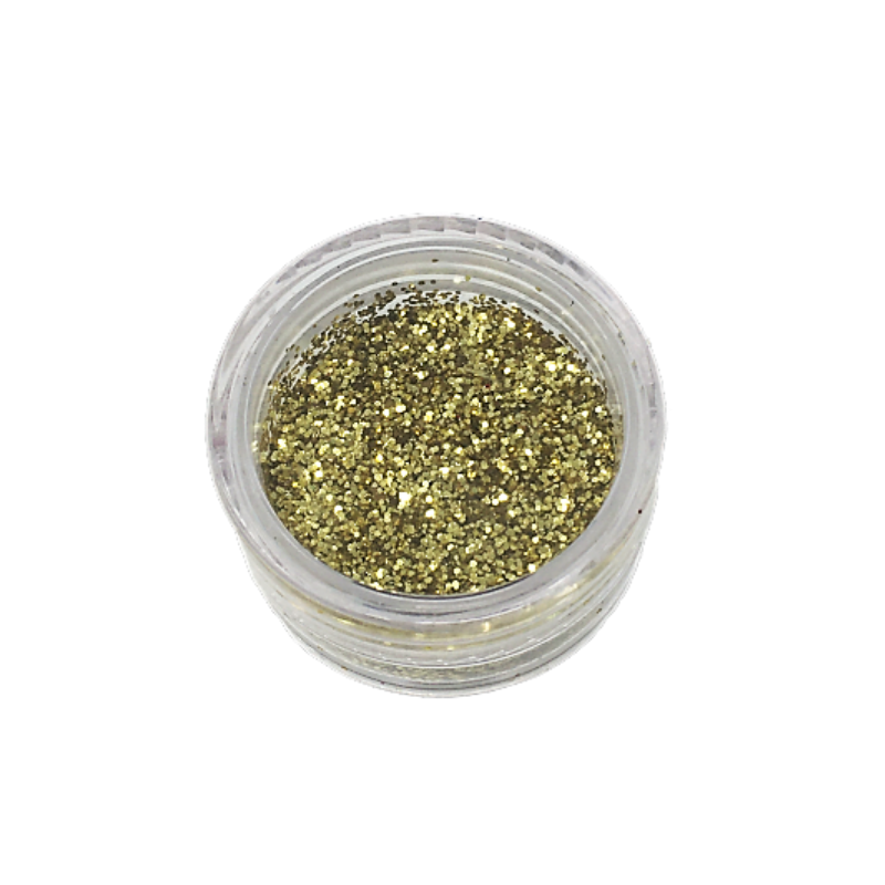 Small Pot of Glitter for Resin Crafts - 3g Gold