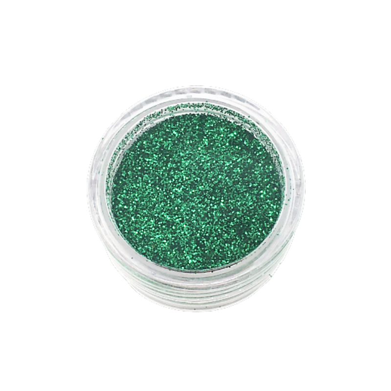 Small Pot of Glitter for Resin Crafts - 3g Green