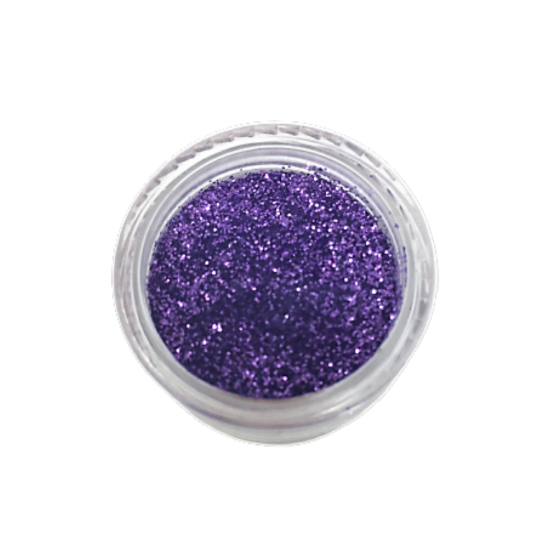 Small Pot of Glitter for Resin Crafts - 3g Purple