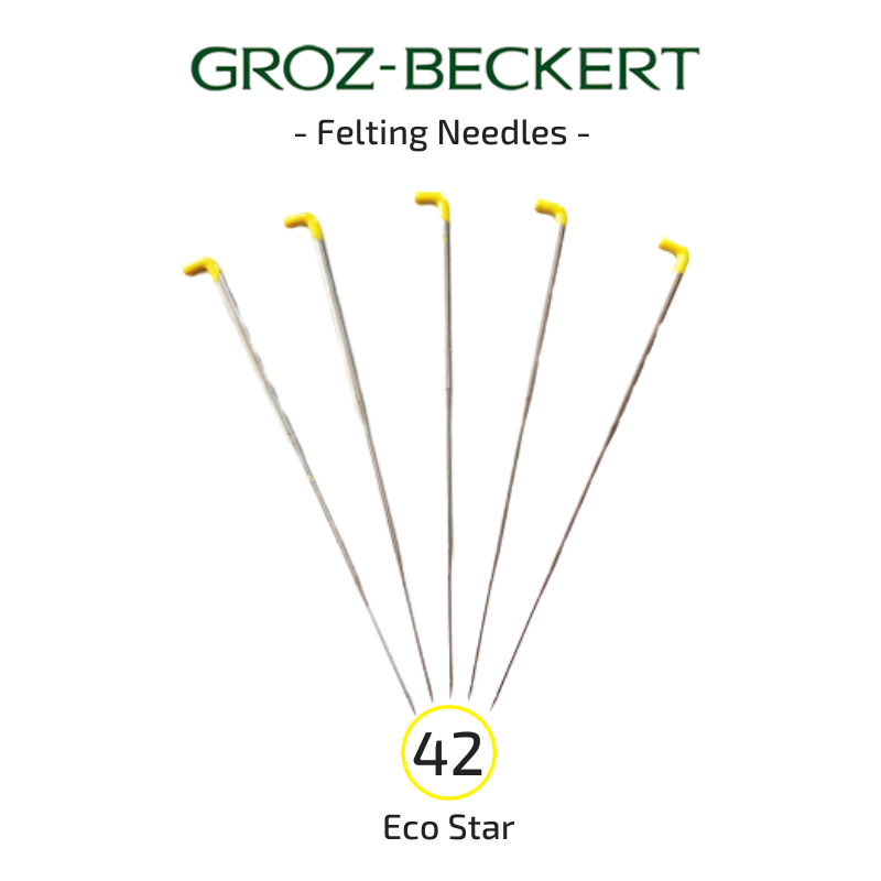 Groz-Beckert Felting Needles - 42 Eco Star