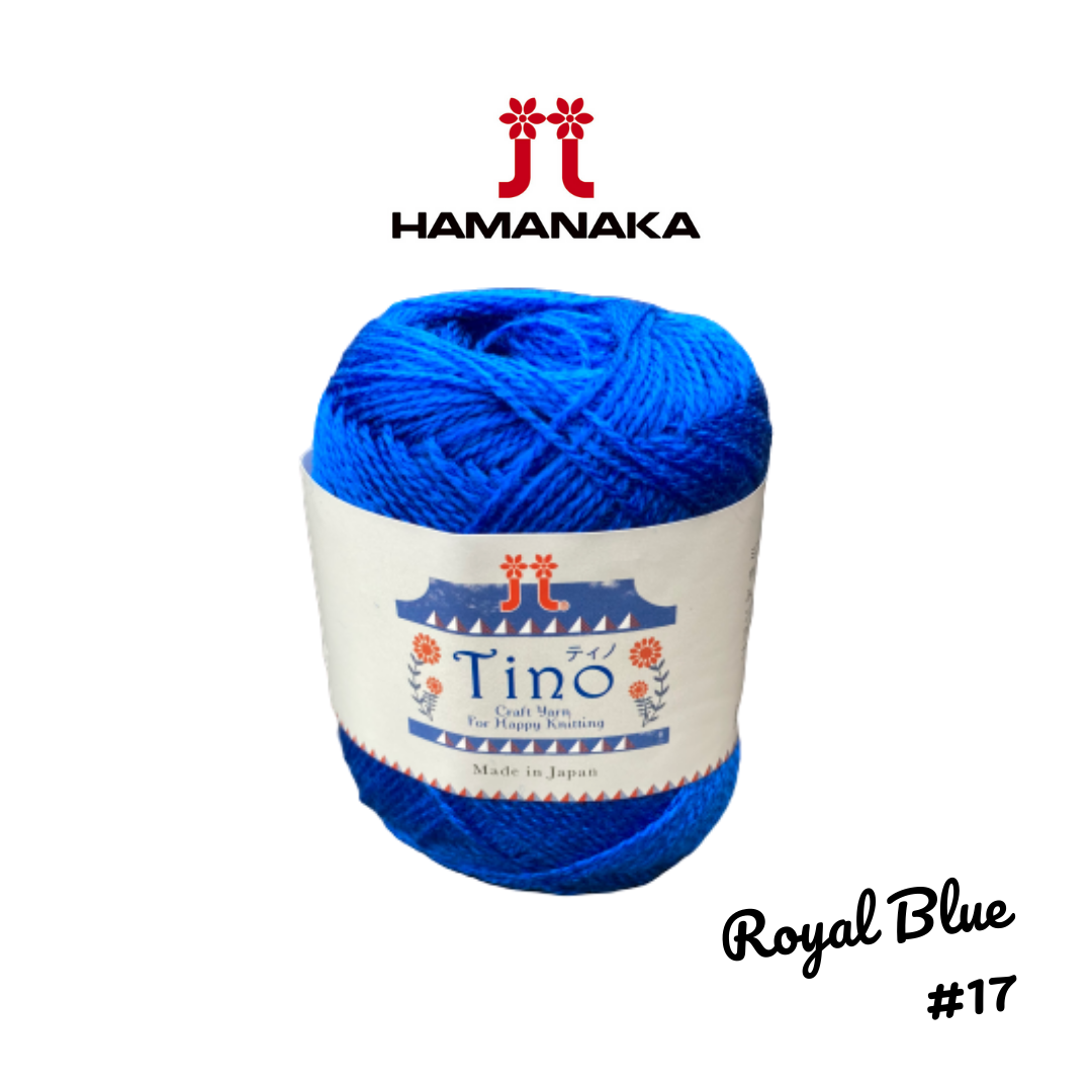 Hamanaka Tino Yarn - Royal Blue #17
