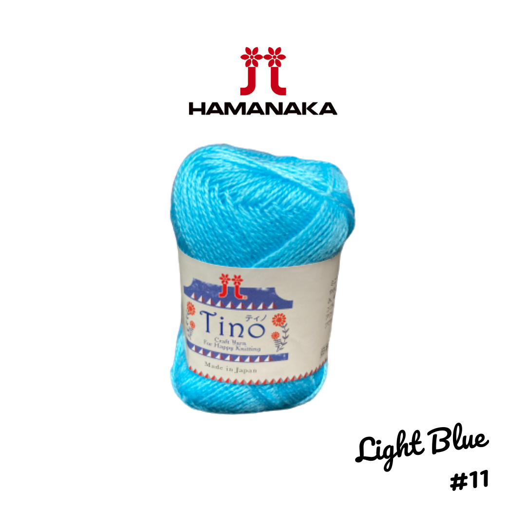 Hamanaka Tino Yarn - Light Blue #11