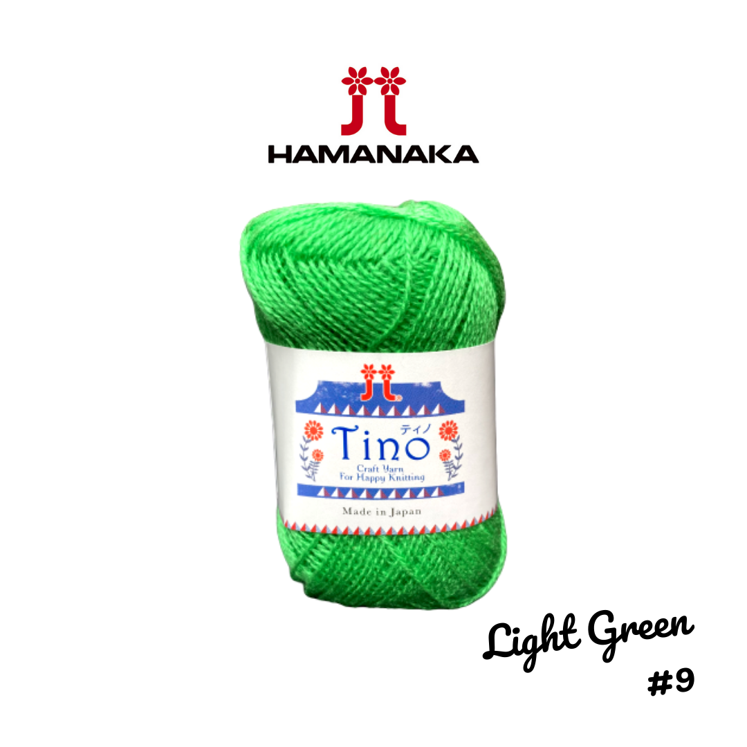 Hamanaka Tino Yarn - Light Green #9