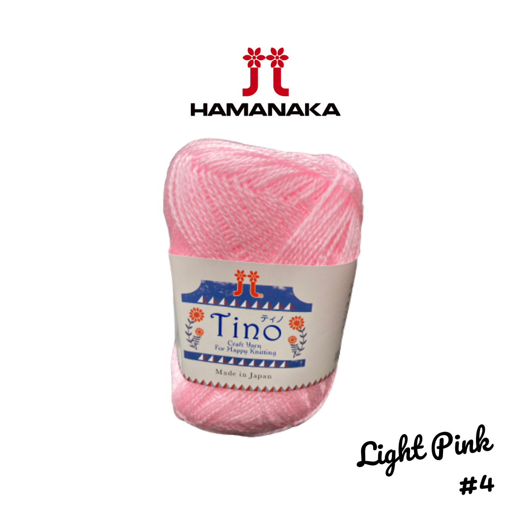 Hamanaka Tino Yarn - Light Pink #4