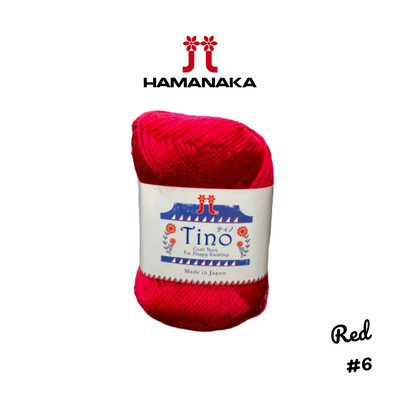 Hamanaka Tino Yarn - Red #6