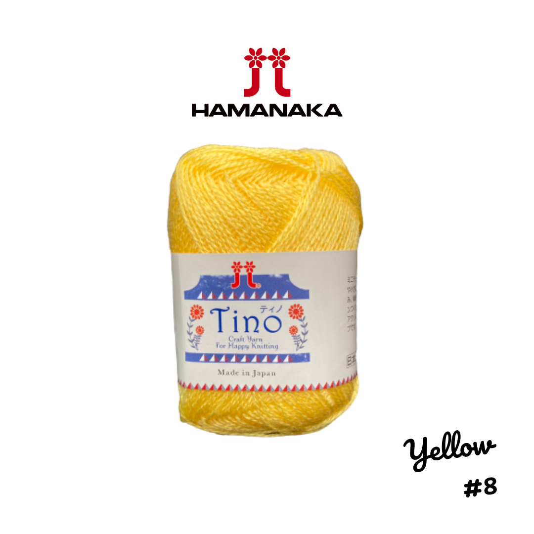 Hamanaka Tino Yarn - Yellow #8