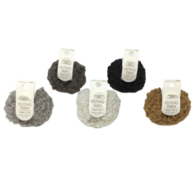 Hamanaka Felting Yarn - All 5 Colours