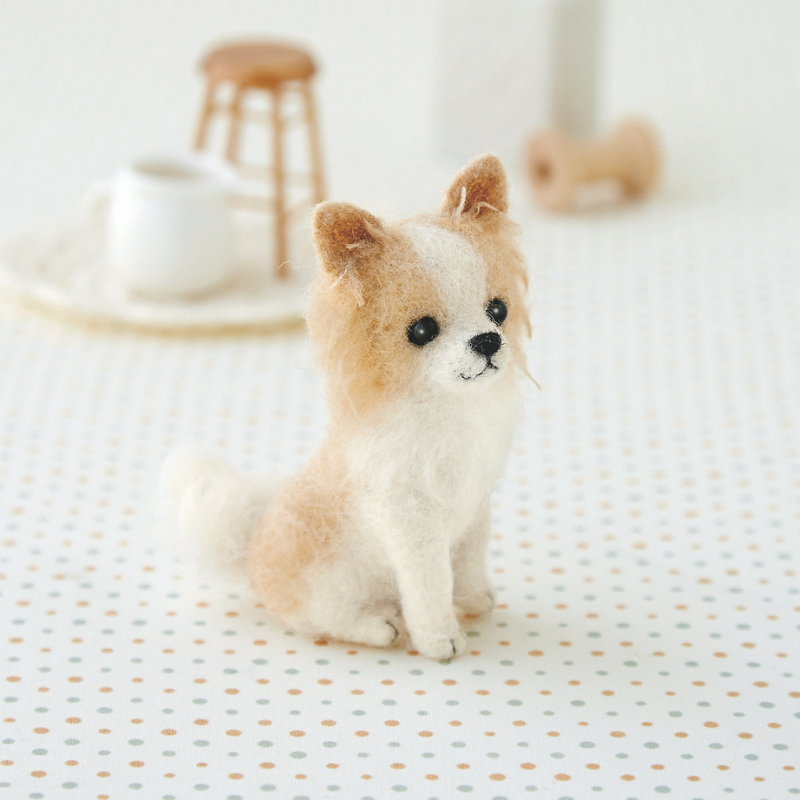 Hamanaka Needle Felting Kit - Chihuahua