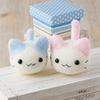 Hamanaka Aclaine Needle Felting Kit - Pastel Cats (English)