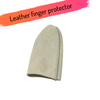 Genuine Leather Finger Protector - Small
