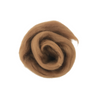 Needle Felting Wool Roving - Nutmeg M031