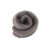 Needle Felting Wool Roving - Pewter M032