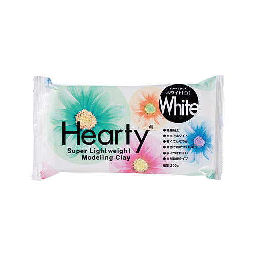 Padico Hearty Lightweight Air Dry Clay - White 200g