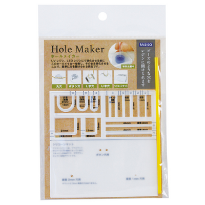 Padico Hole Maker for UV Resin Jewellery Crafts