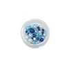 Pearlescent Beads for Resin Creation - Small Pot - Sea Blue Mix