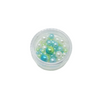 Pearlescent Beads for Resin Creation - Small Pot - Sea Green Mix