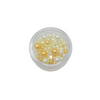 Pearlescent Beads for Resin Creation - Small Pot - Yellow Mix