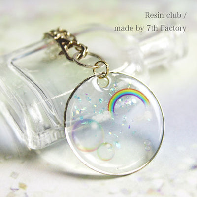 Resin Club Stickers - Rainbow - Made in Japan