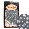 Resin Club Stickers - Snowflakes - Made in Japan