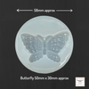 Resin Silicone Soft Mold - Butterfly