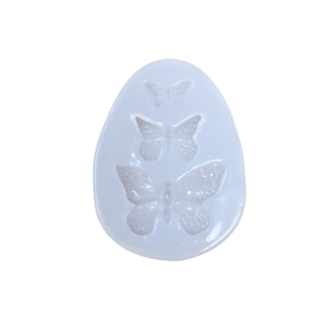 Resin Silicone Soft Mold - Butterflies