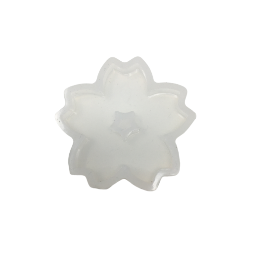 Resin Silicone Soft Mold - Sakura Flower