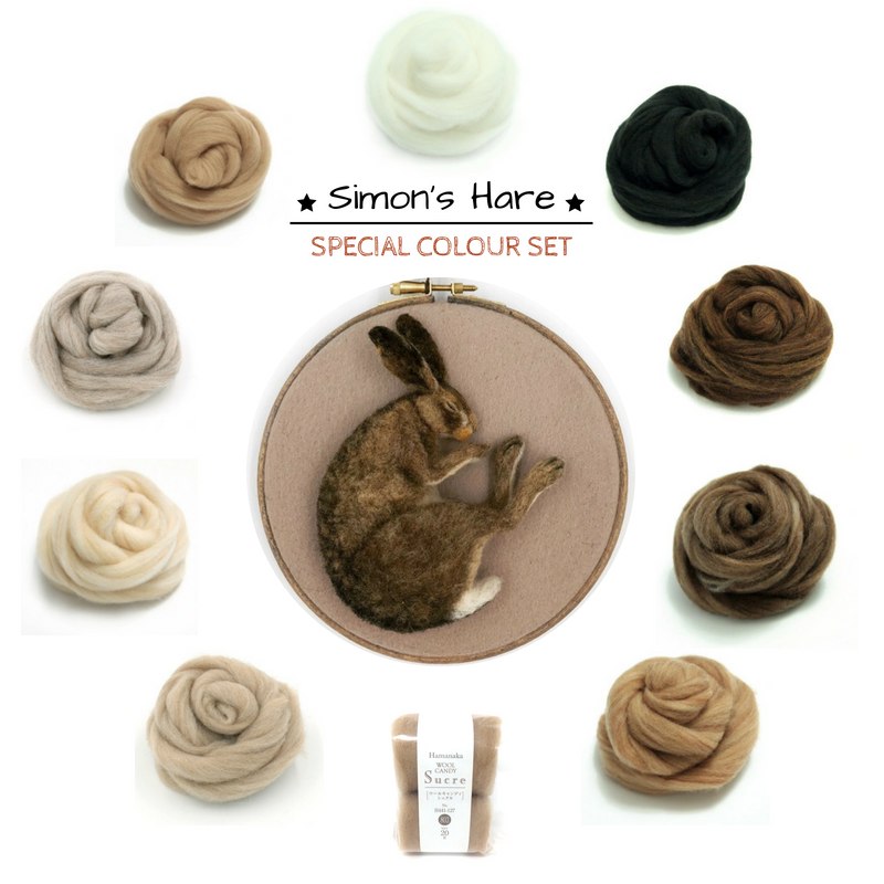 Special Edition Colour Set - Simon Brown's Hare