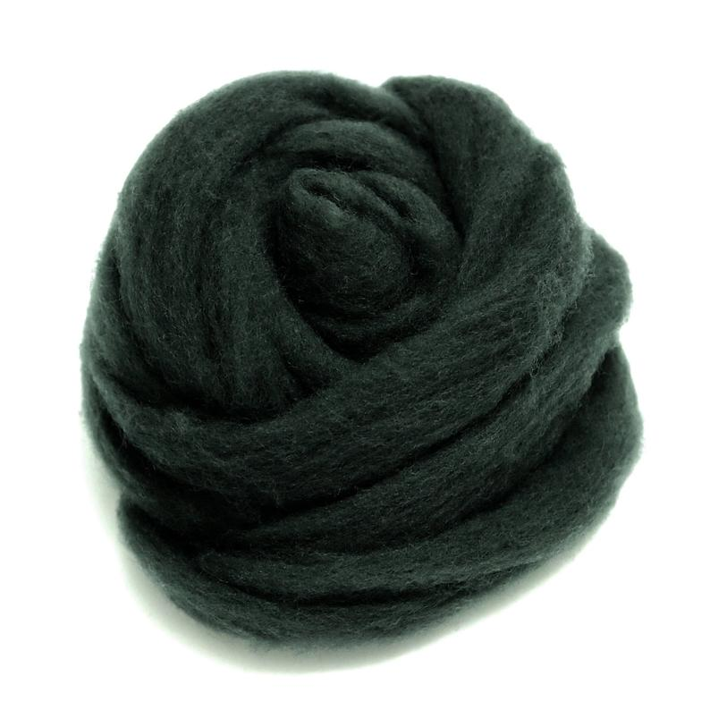 HandCrafter Super Fast Needle Felting Wool - Dark Grey V707