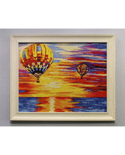 Wizardi Diamond Painting Kit - Hot Air Balloons
