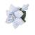 Olympus Tsumami Zaiku Flower Brooch Craft Kit  - Blue Lily