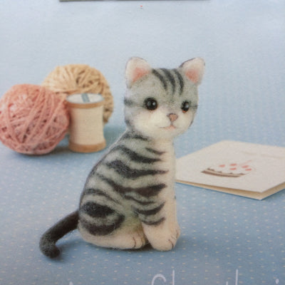 Hamanaka Needle Felting Kit - American Shorthair