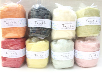Hamanaka Twinkle Needle Felting Wool - Black